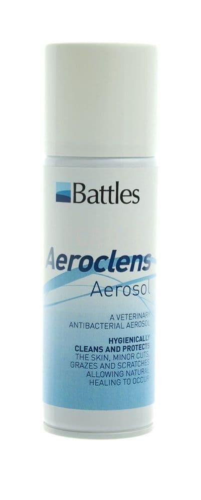 Battles aeroclens aerosol - 150g